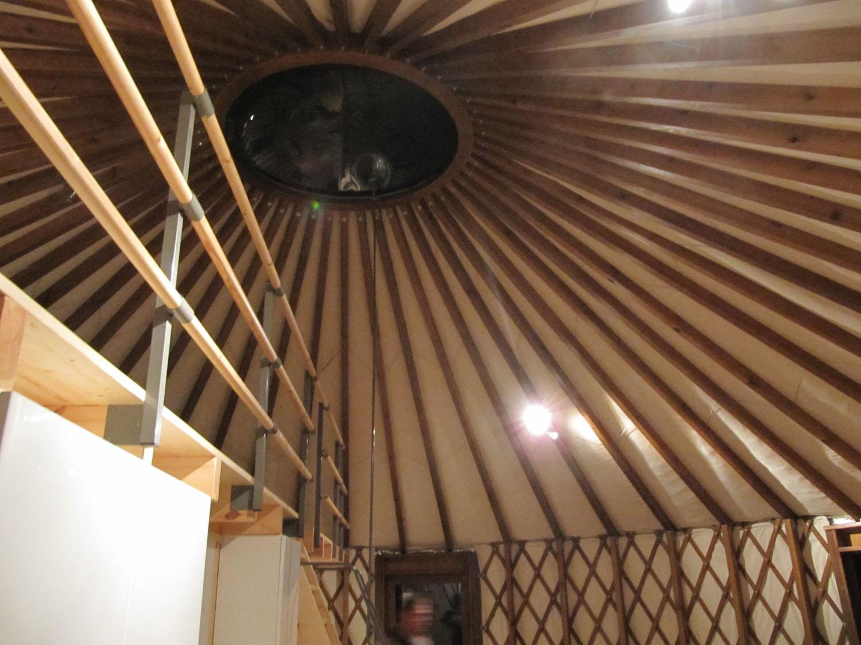 interior yurta